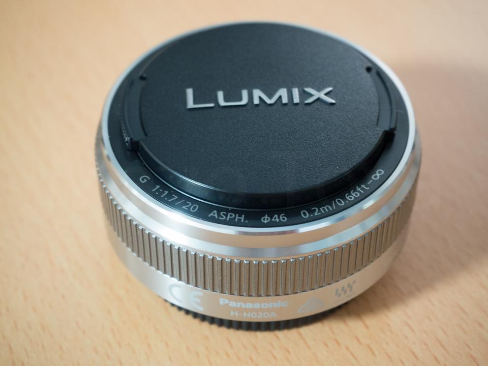 Panasonic  LUMIX G 20mm/F1.7 II ASPH.  H-H020A-S